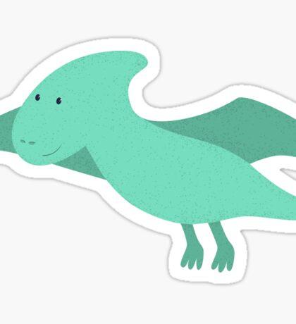 Cute cartoon dinosaur 4. Sticker