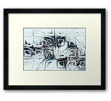 Disorganized Complexity Framed Print
