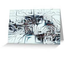 Disorganized Complexity Greeting Card