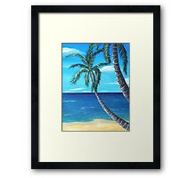 Ocean View - part two Framed Print