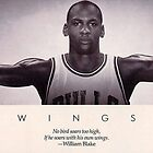 MICHAEL JORDAN WINGS by henryreuther
