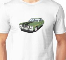Ford Falcon XY GT - Monza Green Unisex T-Shirt