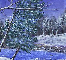 Evening Forest by Anastasiya Malakhova