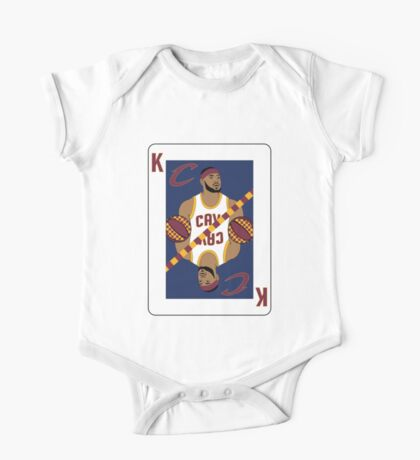 King James Playing Card One Piece - Short Sleeve