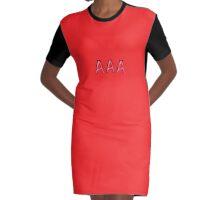 AAA-bra Graphic T-Shirt Dress
