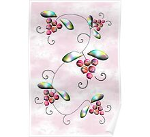 Rainbow Berries Poster