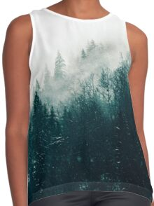 The Silent Forest #redbubble #lifestyle Contrast Tank
