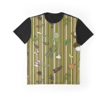 Masala in Rhizome Stripe Graphic T-Shirt
