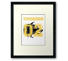 Team Captain: Torgaddon Framed Print