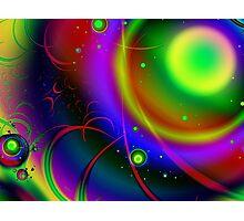 Rainbow Halo Photographic Print