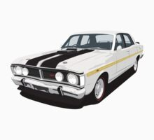 Ford Falcon XY GT - Ultra White Kids Tee