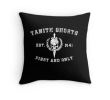 Sports Team: TheTanith Ghosts  Throw Pillow