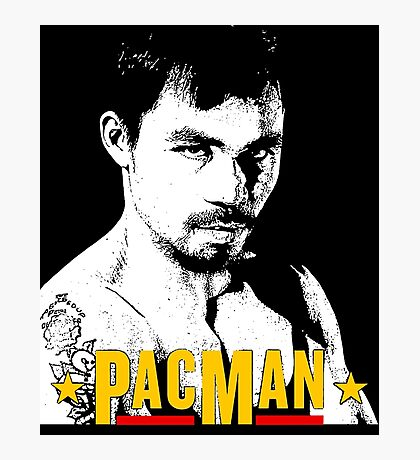 Pacman Power Photographic Print