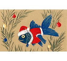Santa Fish Photographic Print