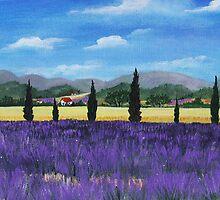 On the way to Roussillon by Anastasiya Malakhova
