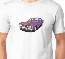 Ford Falcon XY GT - Wild Violet Unisex T-Shirt