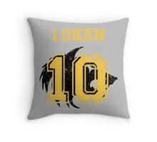Team Captain: Loken Throw Pillow