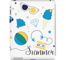 Beach Summer iPad Case/Skin