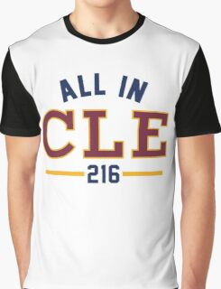 All in CLE 216 Graphic T-Shirt