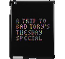 bad tory's tuesday special iPad Case/Skin