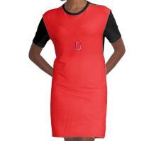 D-Bra Graphic T-Shirt Dress
