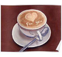 Caffe Latte Poster