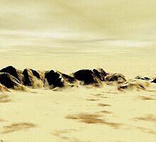 Sand Desert by Anastasiya Malakhova