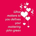 Mattering by iheartgallifrey