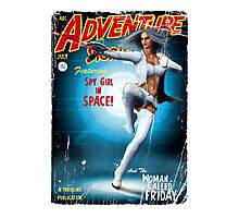 Adventure Stories Fridays Girl Photographic Print
