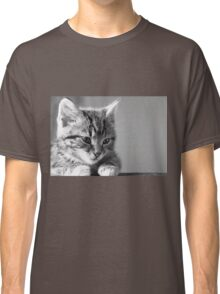Black and White Kitten (Clothing Products) Classic T-Shirt