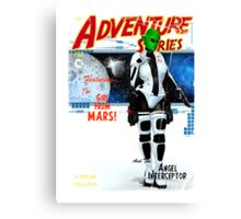 Adventure Stories the Girl From Mars Canvas Print