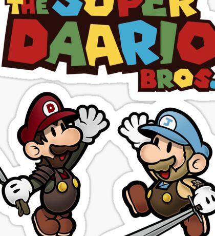 The Super Daario Bros. Sticker