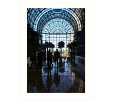 Winter Garden, New York Art Print