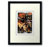 Adventure Stories The Steam Giant Framed Print