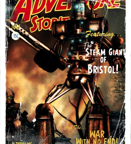 Adventure Stories The Steam Giant Sticker