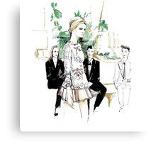 Ginta Lapina for Dolce&Gabbana Canvas Print