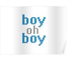 boy oh boy range Poster