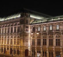 Wiener Staatsoper by Beth Trotter