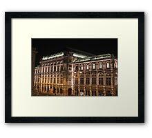 Wiener Staatsoper Framed Print