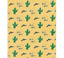 wild west pattern Photographic Print