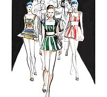 Ginta Lapina for Dolce&Gabbana by meliquestreet