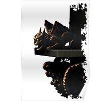 Dark Gargoyle Poster