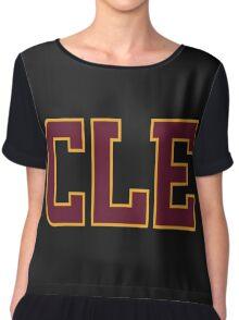Cleveland CLE Shirt Game 6 Finals 2016 Chiffon Top