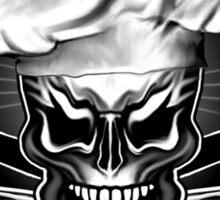 Bad Ass Baker: Skull 1 Sticker