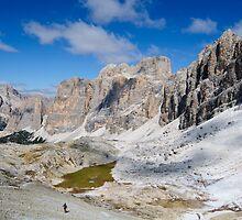 Monte Lagazuoi, Dolomiti, Italy by Andrew Jones