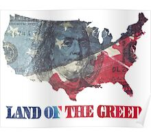 Land of the Greed Poster