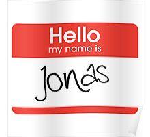 My Name is Jonas Poster