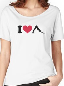 I love Pilates Women's Relaxed Fit T-Shirt