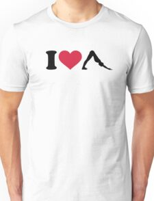 I love Pilates Unisex T-Shirt