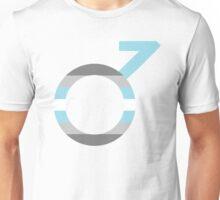 Demiboy Symbol and Flag Unisex T-Shirt